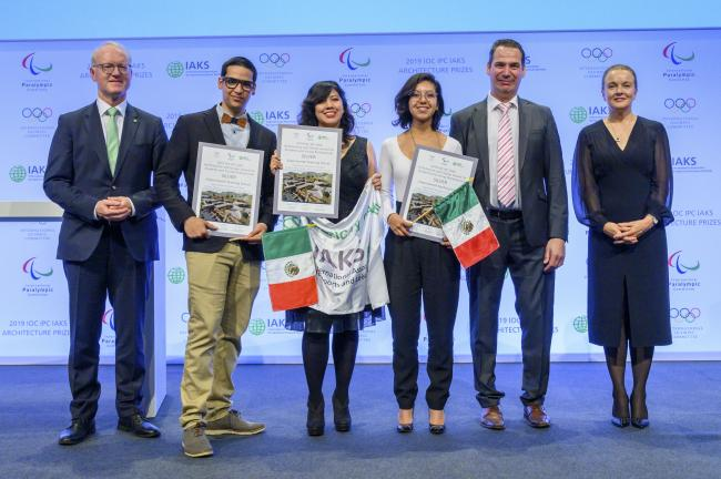 2019 Winners IOC IPC IAKS Architecture and Design Award for Students