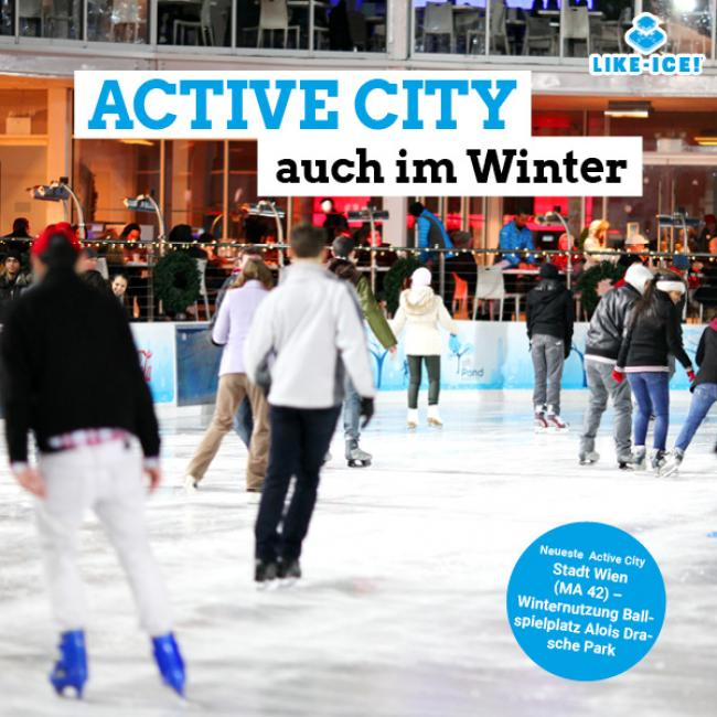 LIKE ICE - Foto Active City 600x600px